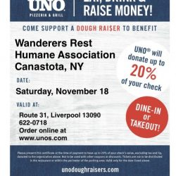 Eat, Drink and Raise Money!