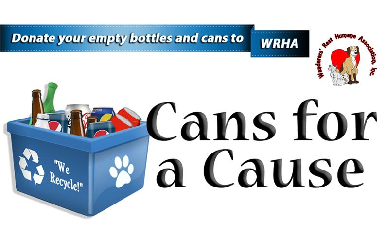 Donate your bottles and cans to us!